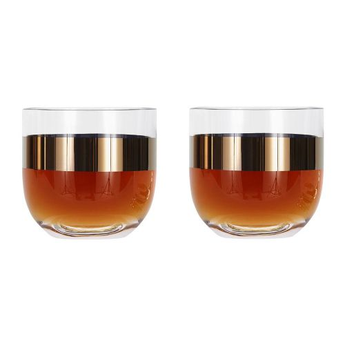 2 Tank Whiskey Glasses